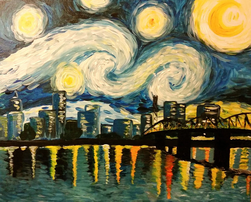 Starry Night Portland