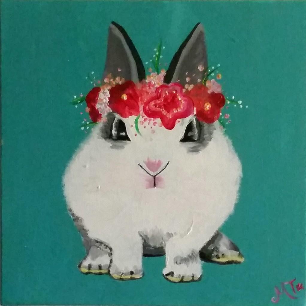 Sweet Bunny 12x12