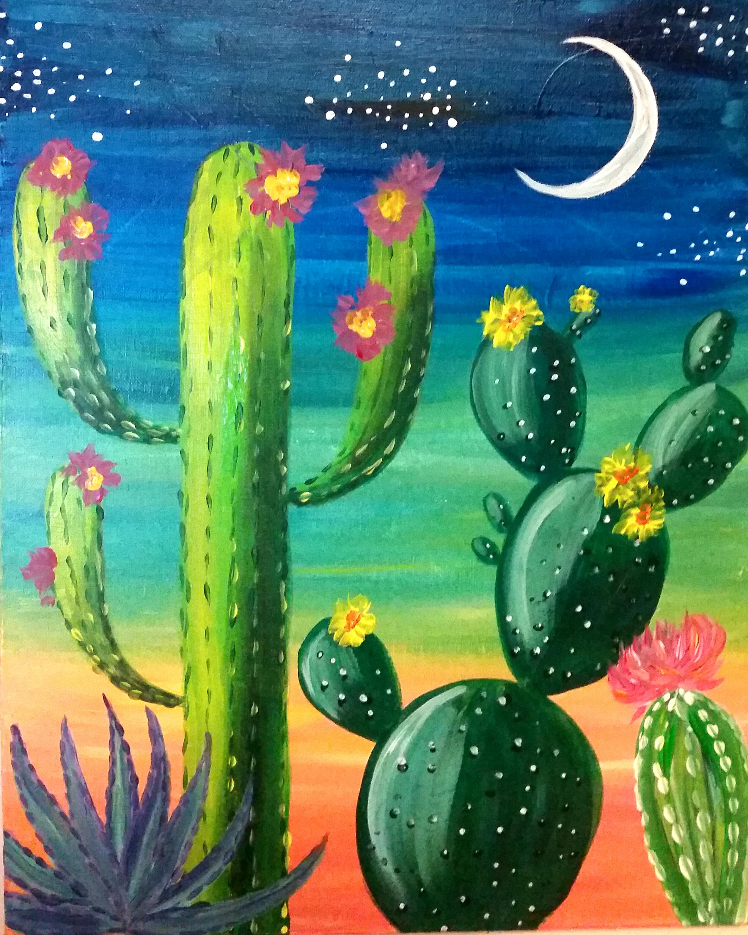 cactus painting wwwpixsharkcom images galleries with