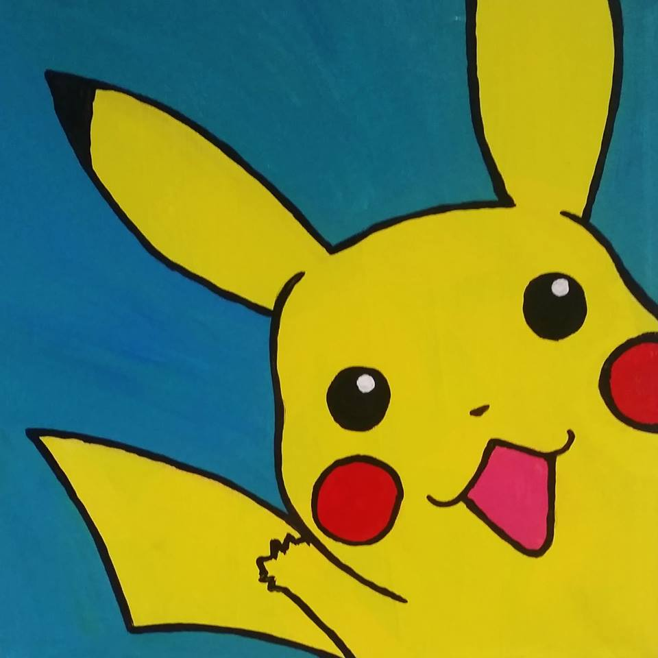 Pikachu - great kids birthday class!