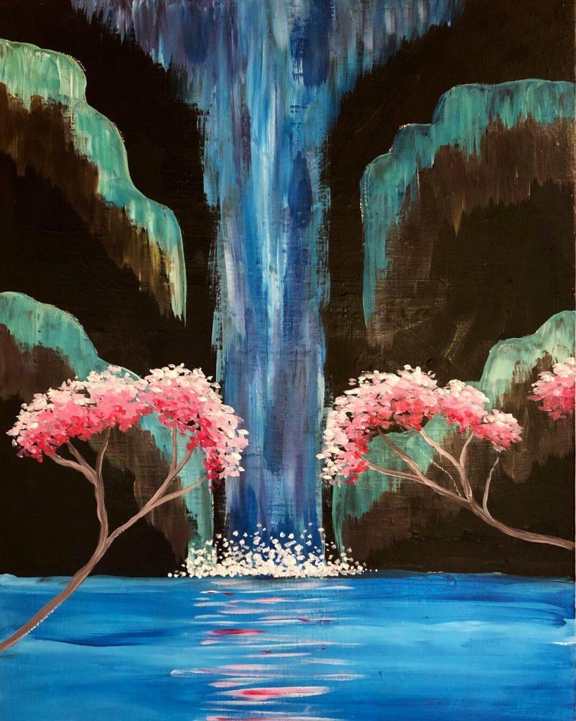 Cherry Blossom Falls